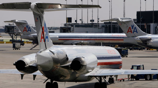 American Airlines, Tarmac, travel