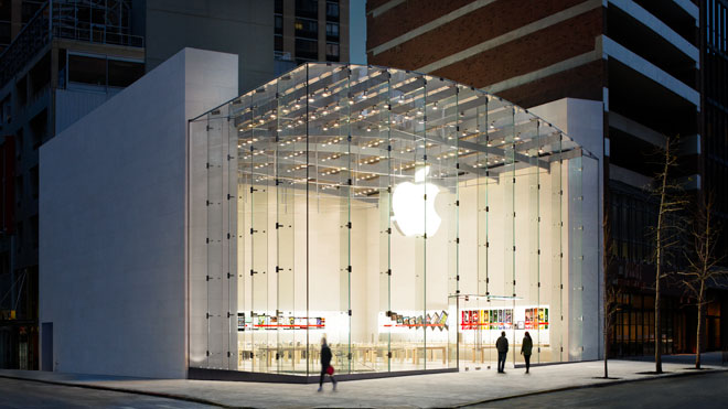 Apple Upper West Side NYC Store