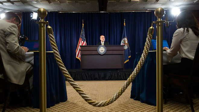 Bernanke News Conference Twist