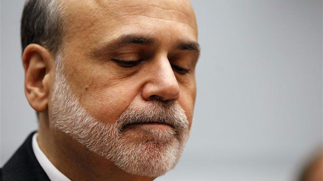 Fed Chairman Bernanke Testifying