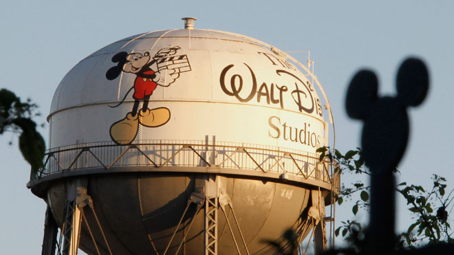 Water Tower at The Walt Disney Co HQ