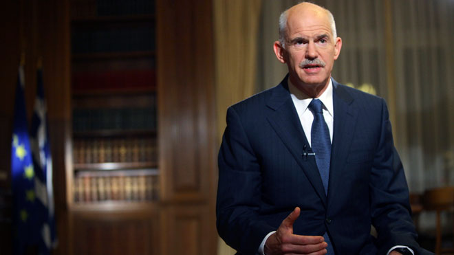 George Papandreou, Reuters