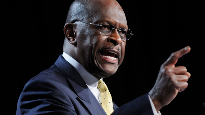 Herman Cain Speaking 01