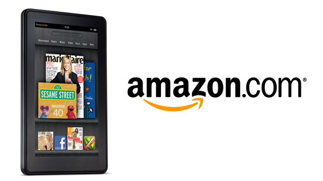 Kindle Fire With Amazon Logo