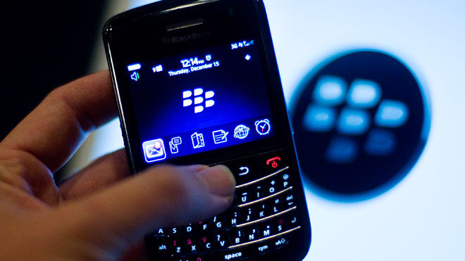 Research in Motion RIM BlackBerry Handset 01