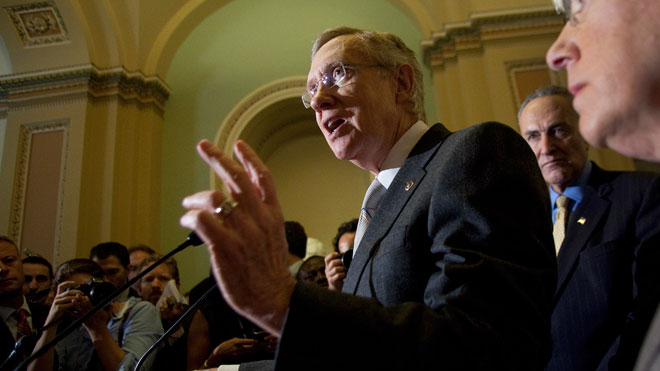 Senate Majority Leader Harry Reid 03