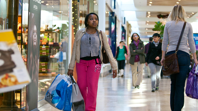 Shoppers at Mall 01