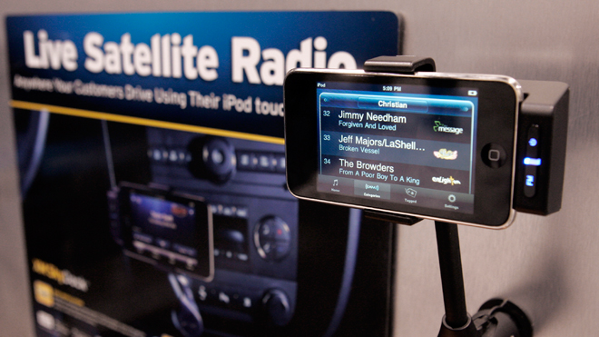 Sirius Satellite Radio XM Skydock iPhone