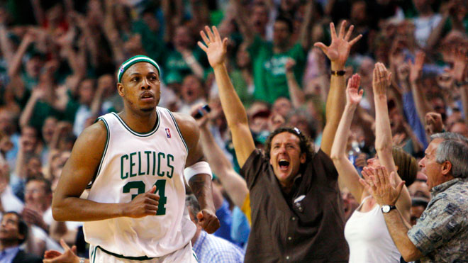 Boston Celtics Paul Pierce, Reuters