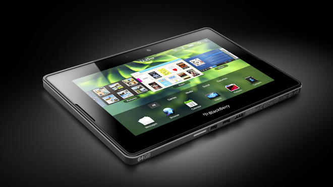 BlackBerry PlayBook Black Back