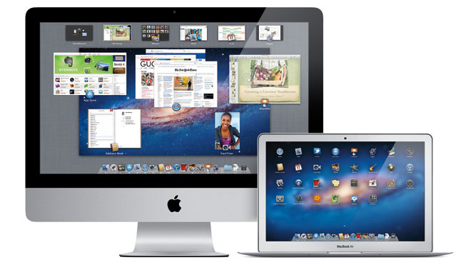 OS X Lion on iMac and MacBook Air