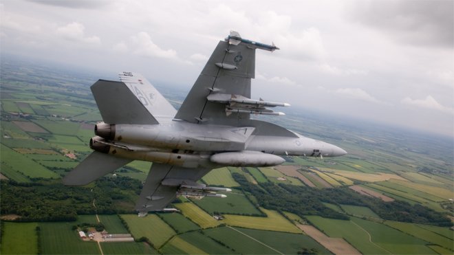 Boeing F/A 18 Superhornet (Fighter Jet)