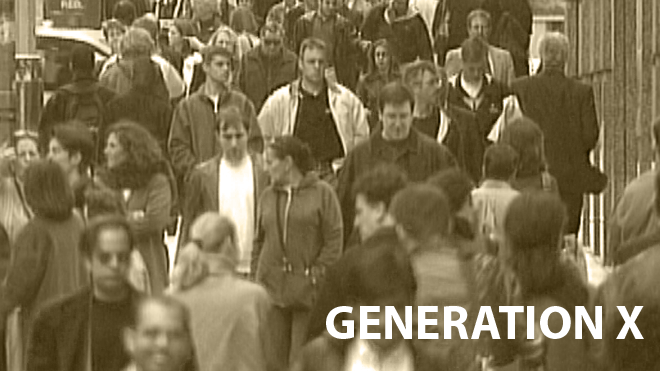 Generation X (FOR SPECIFIC ST