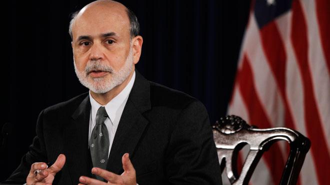 Bernanke Speaking at Press Conference