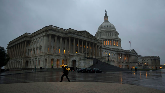 Capitol | Congress in the Rain