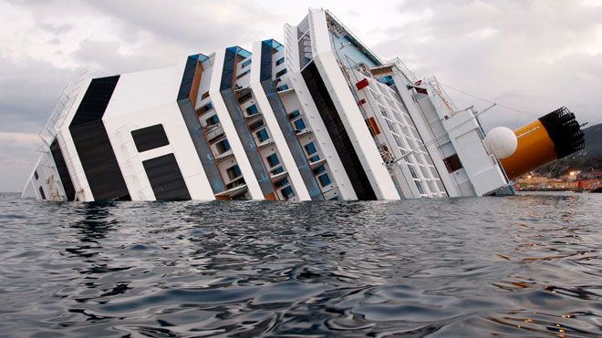Costa Concordia Cruise Ship Sinking