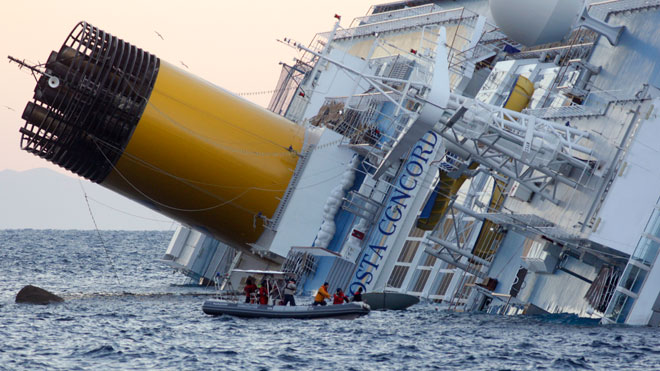 Costa Concordia Cruise Ship Sinking 3
