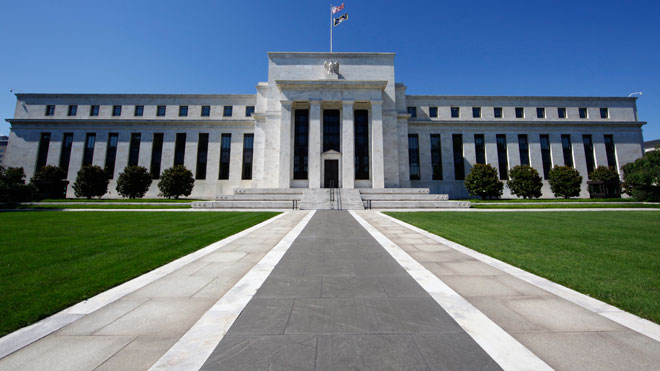 Fed Building -- Front Lawn (Federal Reserve)