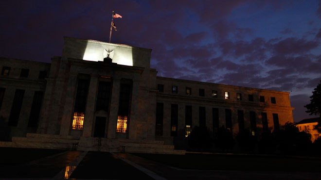 Federal Reserve Building at Night (Fed)