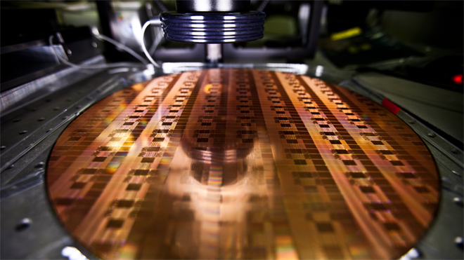 Intel Chip Wafer