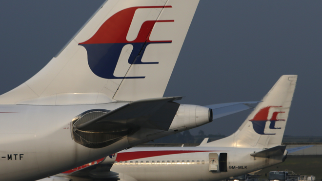 Malaysia Airlines Planes Jets on Tarmac