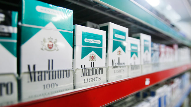 Price of a pack of cigarettes President in NJ