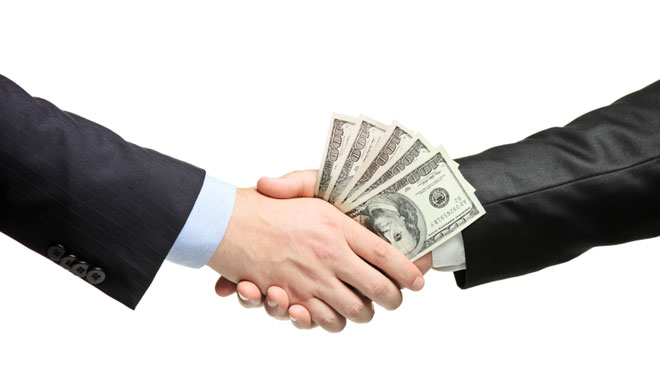 handshake, money handshake, business partner