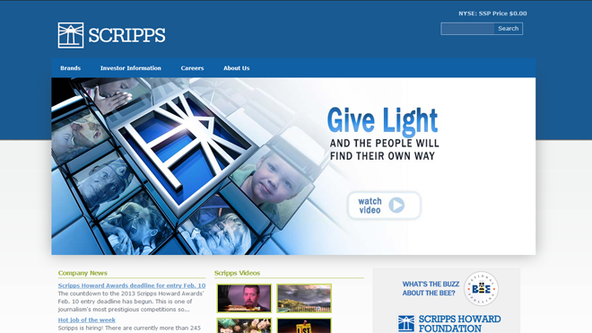 Scripps league newspapers education and research fund