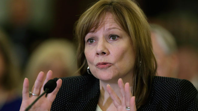 Mary Barra, General Motors, GM