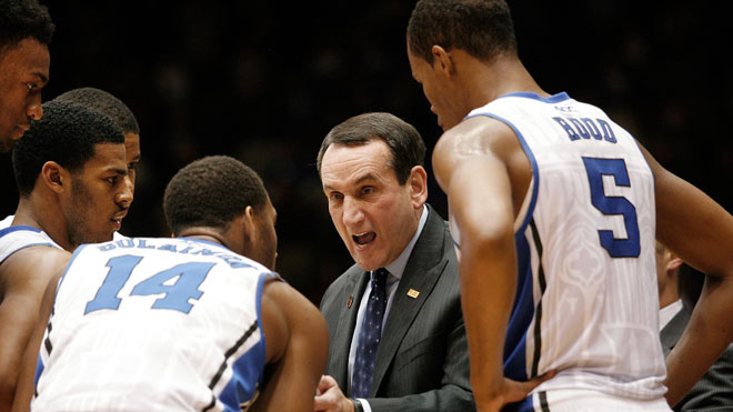 Mike Krzyzewski, Duke, NCAA, college basketball