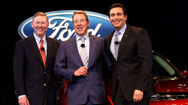 Alan Mulally, Bill Ford, Mark Fields