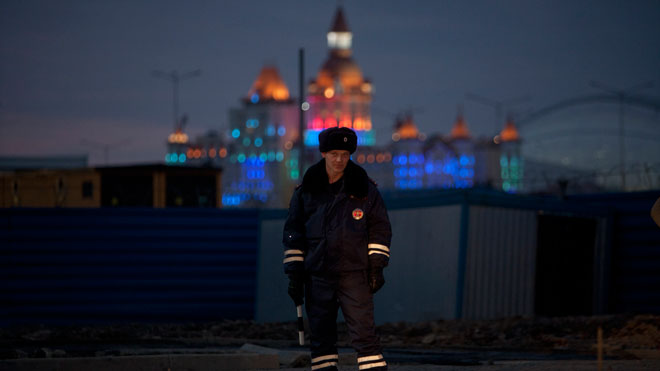 Sochi Olympics Security