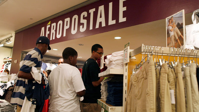 aeropostale, retail, shopping, consumer, spend, spending, sales