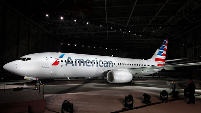 AA New Logo, 2013, American Airlines