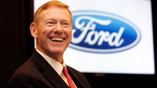 Alan Mulally CEO, Ford