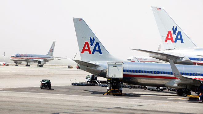 American Airlines, American Airlines aircraft, AA