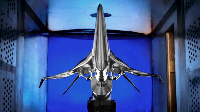 Boeing Supersonic Jet Model