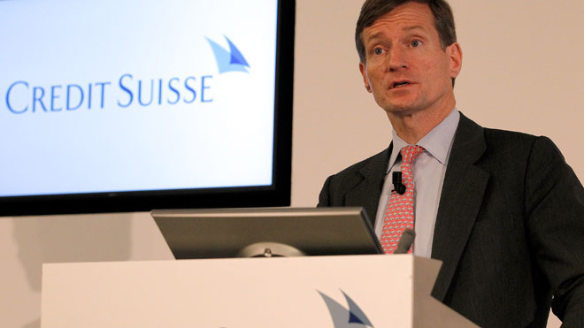 Brady Dougan, Credit Suisse CEO