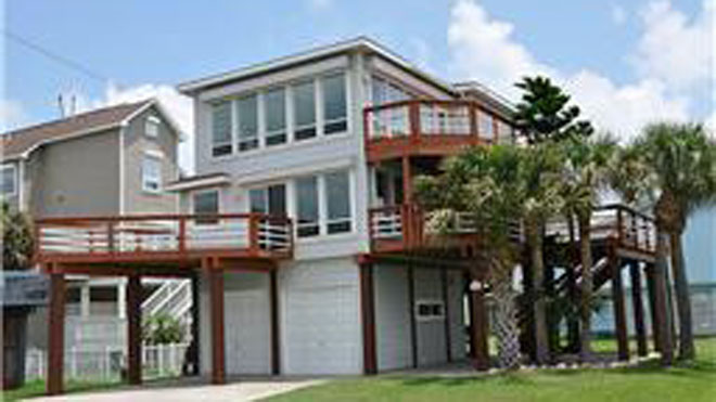 Galveston Island, Texas, vacation home
