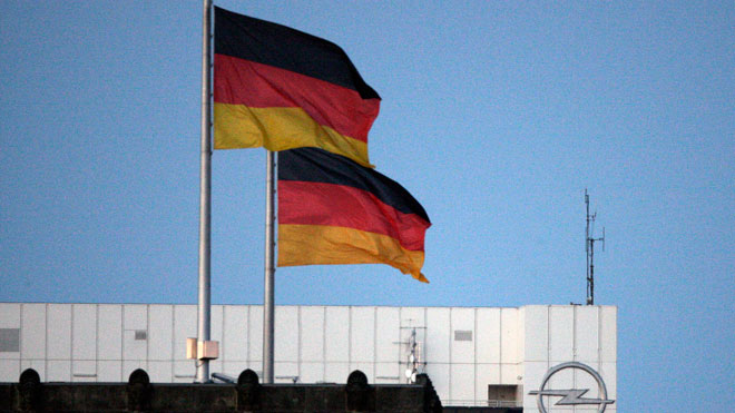 German National Flags