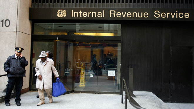 IRS, IRS building, tax man