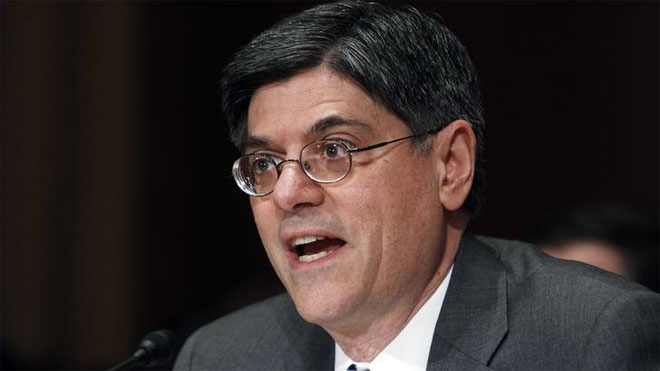Jack Lew, Treasury Secretary, Secretary of the Treasury