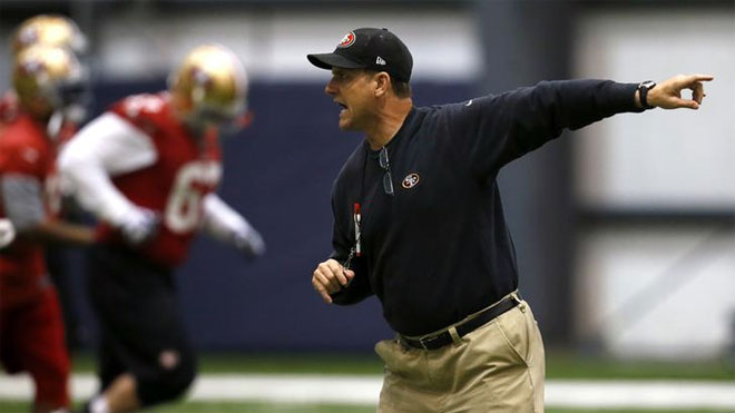 Jim Harbaugh, NFL Coach, head coach, Niners coach, 49ers
