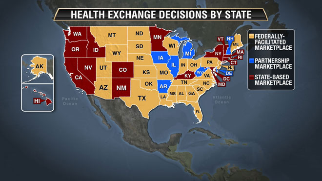 Map Health Decisions State by State