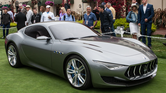 Maserati Alfieri concept car, Fiat Chrysler, autos, sports car