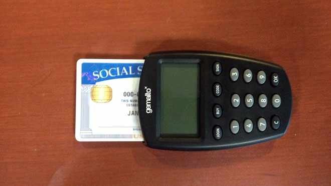 Social Security Card Scanner