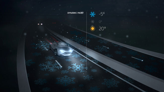 Smart Highway Snowflake Paint