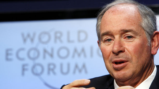 Stephen Schwarzman, Blackstone Co-founder