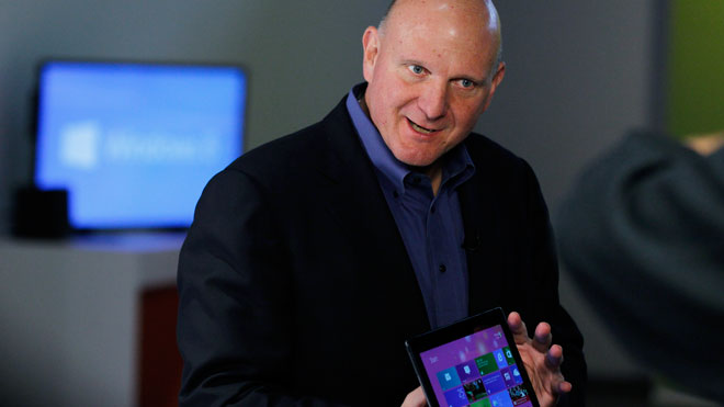 Steve Ballmer, Windows 8