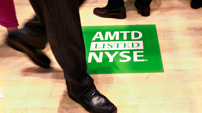 TD Ameritrade, brokerage firm